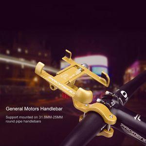 Image 2 - Aluminum Aluminum Alloy Motorcycle Holder 360 Degree Rotatable Handlebar Bike Bicycle Phone Mount GPS Stand for iPhone Samsung