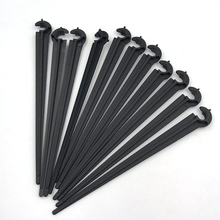 Hook Irigation 10/50/100pcs 11cm Durable Plastic Fixed Stems Support Holder for 4/7 Drip Irrigation Water Hose