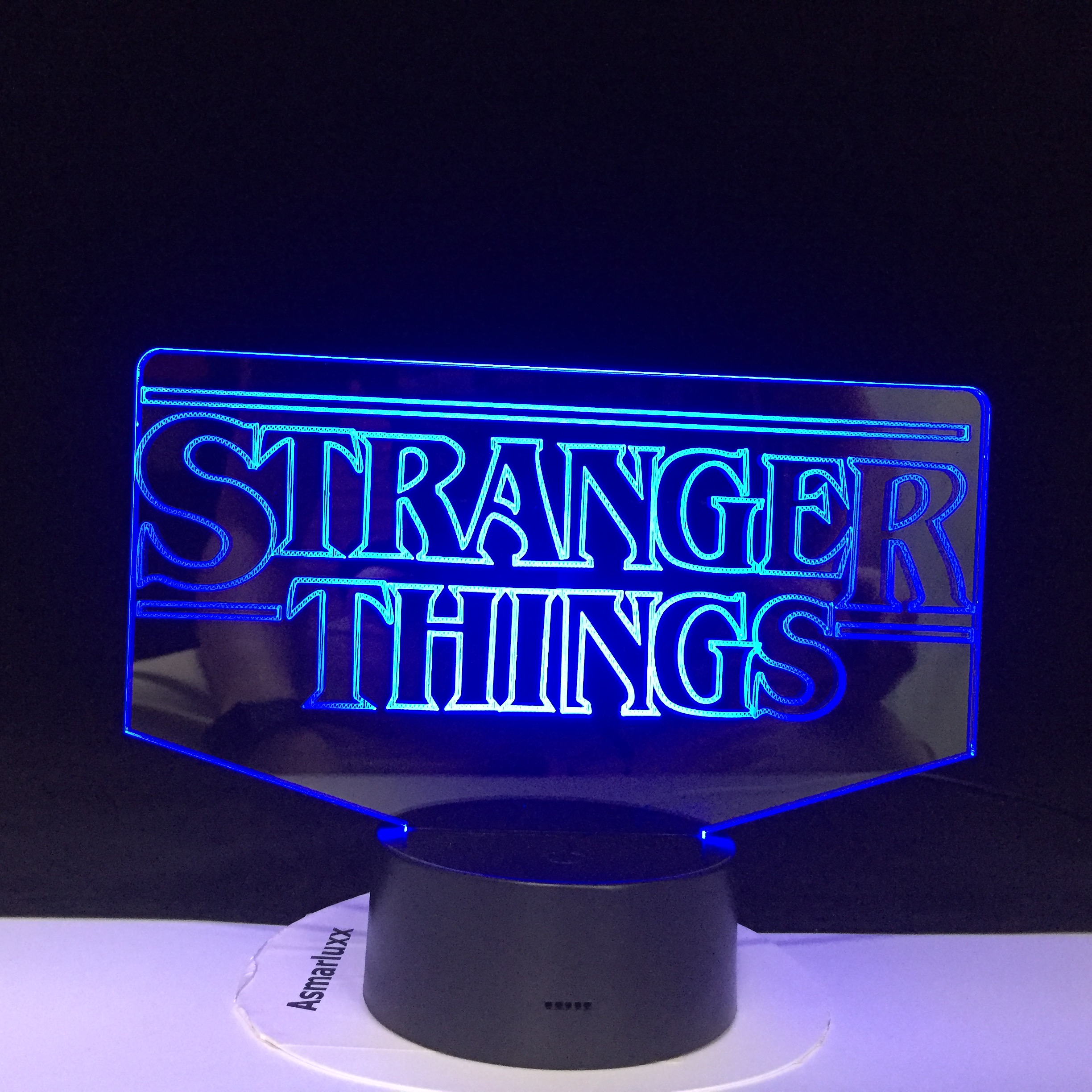 The TV Show Stranger Things 3D LED Lamp Lovely Gift For Baby For Room Decorative Battery Operated Dropship Led Night Light Lamp