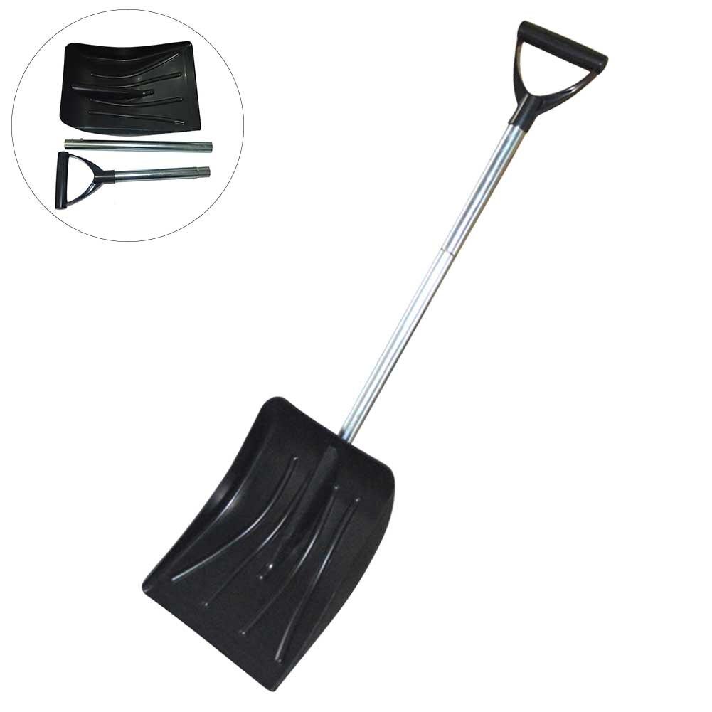 Складная лопата для уборки снега для зимнего кемпинга скребок для льда выдвижной инструмент для удаления сада Многофункциональный