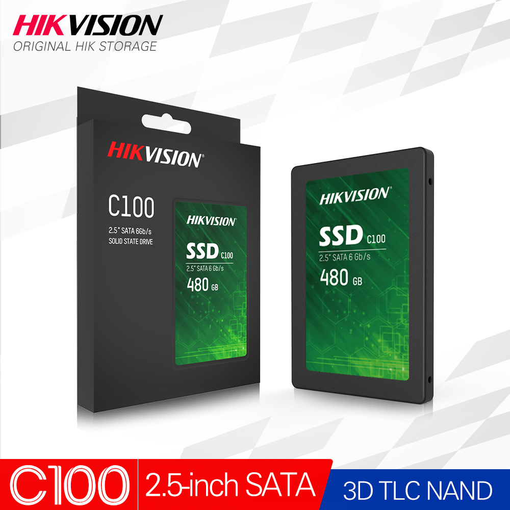 Hikvision HikStorage SSD 550MB/s MAX 120GB 960GB 480GB 960GB 2.5 inch SATA 3.0 Internal Solid State Disk SDD 3D TLC Laptop Disk