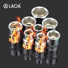 LAOA 10PCS 1/2 Hex Steckschlüssel Kopf 12,5mm Verwendet auf Ratsche Steckschlüssel Drehmoment Spanner Tief Buchse Werkzeug aus Taiwan