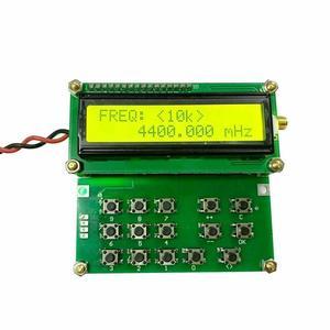 Fonte de sinal adf4351 vfo hxy d6 v1.02 do gerador do sinal do rf de 35 mhz-4000 mhz módulo do contador da varredura do medidor