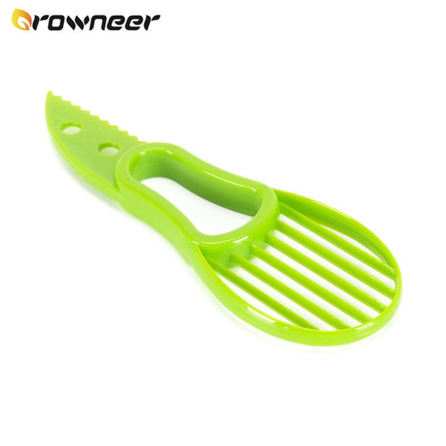 Knife for cutting avocado, shea butter and other fruits 4