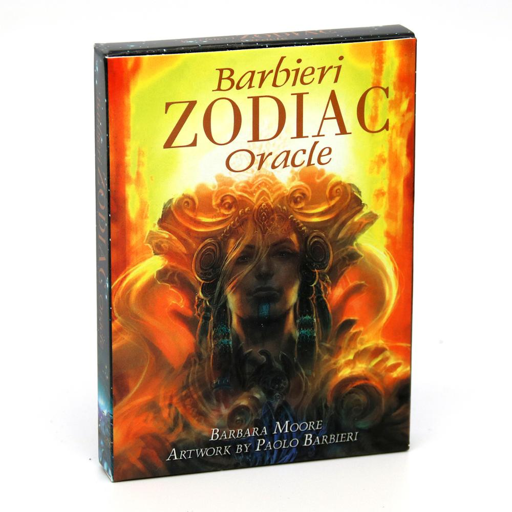 Barbieri Zodiac Oracle Cards Tarot Kit Deck Cards Astrology Set Divination Five Languages English Spanish French Italian German