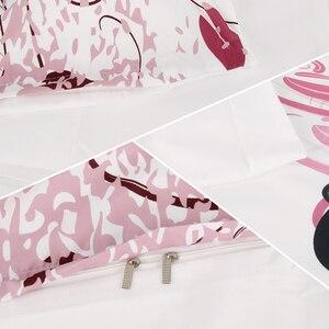 Image 5 - ميراسيل الوردي الجنية المفارش ثلاثية الأبعاد الطباعة حاف الغطاء المخدة مجموعة لفتاة نوم الفراش مجموعات المنسوجات المنزلية التوأم كامل الحجم