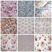 2021 nova largura vários estilos 160cm vintage rosa floral 100% algodão tecido têxtil para casa retalhos tecidos de costura artesanal