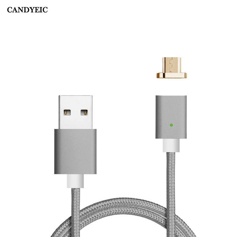 CANDYEIC Android Magnetic Micro USB Cable For Xiaomi 4 Redmi 5 4x 4a 3 Charging, Magnetic Cable For Redmi Note 5 pro 4x 4 Charge|data cable for android|cable usb chargercharger for samsung - AliExpress