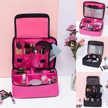 Fashion Women Cosmetic Bag Make-up Bag Toiletry Washing Beau