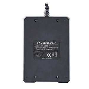 Image 3 - 18650 Battery Charger Black 1 2 4Slots AC 110V 220V Dual For 18650 Charging 3.7V Rechargeable Lithium Battery