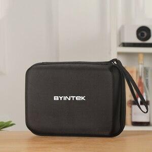 Image 3 - Оригинальный Роскошный чехол BYINTEK, переносная тканевая защита для мини проектора UFO P10 P8I R7 (проектор в комплект не входит)