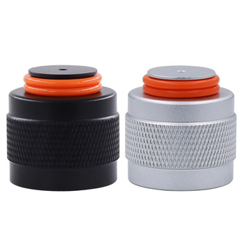 HPAT 2 pcs/lot Aluminum Thread Protector/Saver for HPA/CO2 Paintball Tank Regulator Or Valve