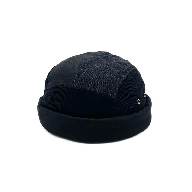 Новый стиль сочетающийся цвет пэчворк ковбой черный деним для