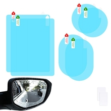 Car-Rearview-Mirror-Film Nano-Film Membrane-Protector Rain Anti-Fog Waterproof 6pcs