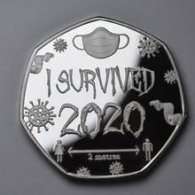 He superado 2020 medallas y coleccionistas conmemorativos. Regalo de recuerdo