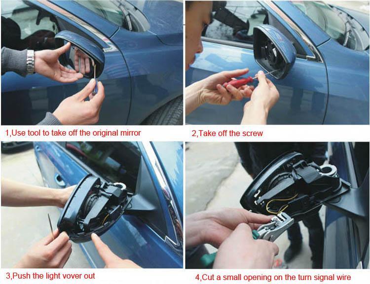Для vw beetle/cc Автомобильное зеркало заднего вида с антибликовым