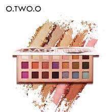 O.TWO.O Eyeshadow Palette Matte Shimmer High Pigmented Eye Shadow Powder Makeup Long Lasting Glitter Eyes Cosmetics 21 Color все цены