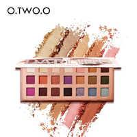 O.TWO.O Eyeshadow Palette Matte Shimmer High Pigmented Eye Shadow Powder Makeup Long Lasting Glitter Eyes Cosmetics 21 Color