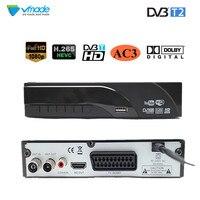 DVB T2 Terrestrial digital receiver supports Dolby AC3 H.265/HEVC DVB T h265 hevc dvb t2 hot sale Europe Czech Republic