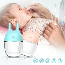 Mucus Cleaner Nasal-Aspirator Nose Snot Baby Sucker-Pump Silicone Manual Care-Supplies