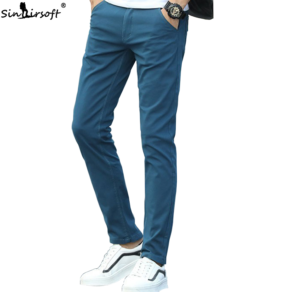 28-38 Summer Casual High Quality Cotton Soft And Breathable Slim Korean Skateboard Nine Points Feet Pants New Products Pants Men
