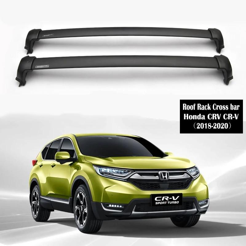 Aluminum Alloy Roof Rack For Honda Crv Cr V 2018 2020 Rails Bar Luggage Carrier Bars Top Cross Bar Rack Rail Boxes Roof Racks Boxes Aliexpress