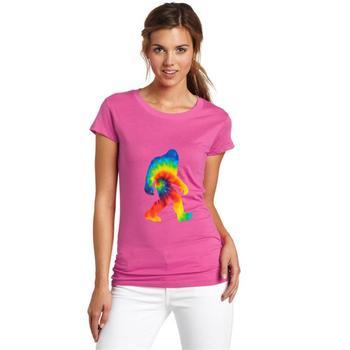 Print Bigfoot Tie Dye Vintage Hippie Sasquatch t-shirt 3xl 4xl 66xl cool astroworld Leisure homme tee t shirts