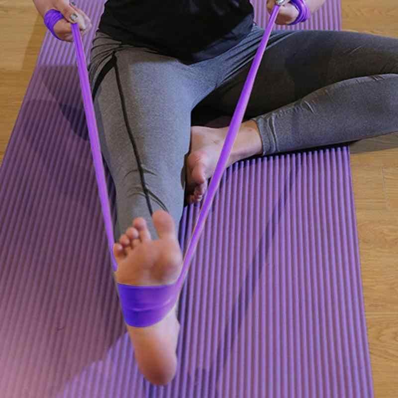 Thun Yoga Dây Đàn Hồi Co Giãn Tập Thể Dục Tập Thể Hình Kéo Dây