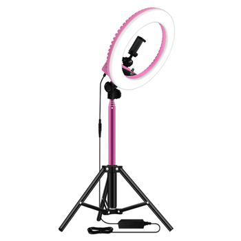 14 Inch Dimmable 5500K LED Ring Light with 1.6M Tripod for Studio Lamp Photography YouTube Photo Makeup Ring Light