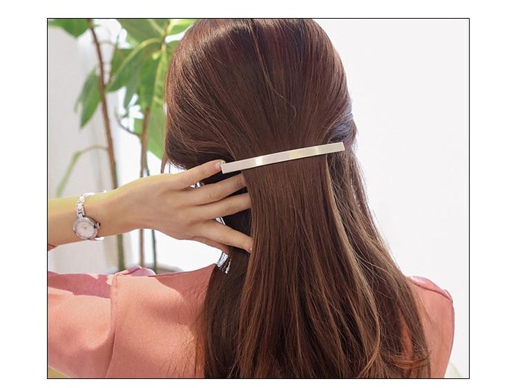 Grampos de Cabelo Estilo do Cabelo Lote Faça Você Mesmo Simples Multi Liga Geométrica Pitada Galo Galvanoplastia Hairpin Ferramentas Acessórios Ha1480 60 Pçs –