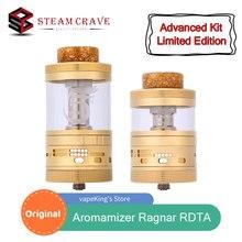 Original Steam Crave Aromamizer Ragnar 35mm RDTA Advanced Kit Limited Edition 18.0ml/ 25.0ml Electronic Cigarette Atomizer
