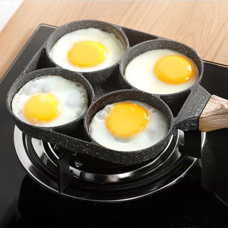 New Four-Hole Non-Stick Omelet Pan 1