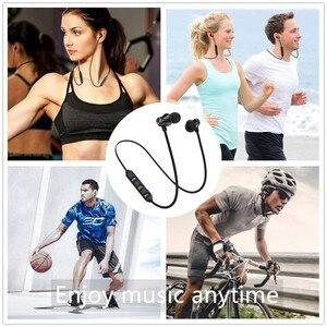 Image 5 - Bluetooth V4.2 אלחוטי סטריאו אוזניות ספורט אוזניות עבור iPhone X XS 7 8 סמסונג S8 S9 S10 Xiaomi 9 עמיד למים אוזניות עם מיקרופון