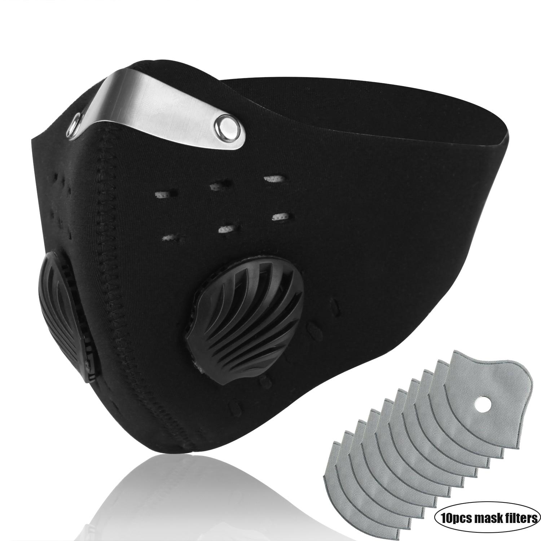 Activated Carbon Masks Dustproof Face Mask Black Men Women Muffle Outdoor Cycling Mouch MasksWomens Masks