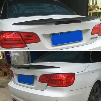 Use For BMW 3 Series E93 Spoiler 2007--2013 Year Coupe 2-door Cabriolet Carbon Fiber Rear Wing M4 Style Accessories Body Kit image