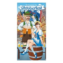 Oktoberfest Party Decorations Photo Prop Giant Fabric Photo Booth Background Funny Oktoberfest Games Supplies For Beer Festival s 2xl blue women beer girl costume bavaria oktoberfest dress beer maid dirndl