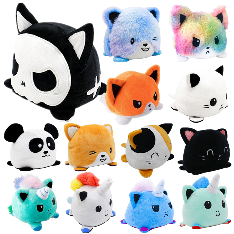 Cats Soft Toys Magnetic Fridge Magnets Plush Cuddly 15cm Cat Pussy Kids Pet Pets