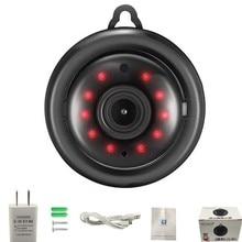 V380 экшн-камера с Wi-Fi подключением Камера 1080p IP Камера Беспроводной CCTV ИК-камера Ночное видение Обнаружение движения 2-полосная аудио домашней безопасности видеокамеры