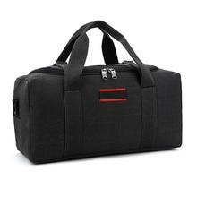 Canvas Travel Bag Weekend Bag Large Capa