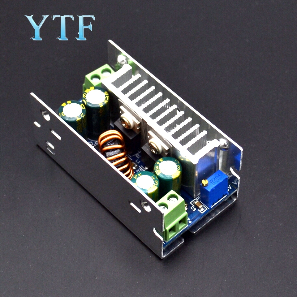 15A 200W Adjustable DC-DC Step Down Converter Buck Module 60V48V Voltage Stabilized Synchronous Rectification