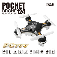 Fq777 124 Unmanned Aerial Vehicle Mini Portable Remote Control Aircraft Airplane Model Toy
