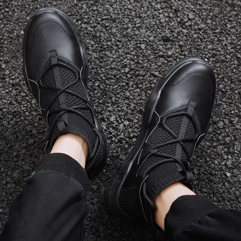 รองเท้าผู้ชายฤดูหนาวผู้ชายถุงเท้ารองเท้าหนาด้านล่าง Casual แฟชั่นกลางแจ้งรองเท้าผู้ชายรองเท้าผ้าใบ Sapato Masculino