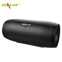 ZEALOT S16 column bluetooth speaker soundbar wireless outdoor subwoofer high power waterproof portable speakers+sd card slot