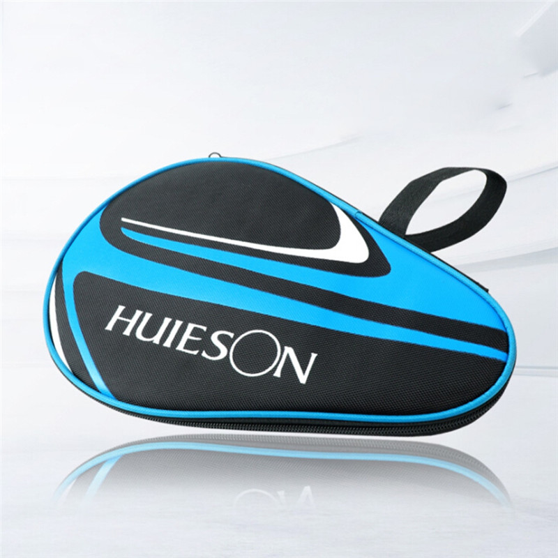 Table Tennis Rackets Bag For Training Professional Ping Pong Case Dust-proof Zipper Steel Ring Ping Pong Bat Storage Bagfz