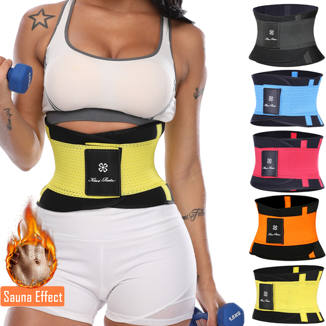Women Xtreme Power Belt Slimming Body Shaper Waist Trainer Trimmer Fitness Corset Tummy Control Shapewear Stomach Trainers 1