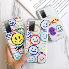 Krzemu skrzynka dla Samsung A51 przypadku wyczyść telefon pokrywa Galaxy M21 M21S M30S M31 Prime M42 M51 uwaga 20 Plus Ultra On7 2016 Fundas tanie tanio Vanveet CN (pochodzenie) Bumper soft phone Case For Samsung M11 M21 M21S M30S M31 Prime M42 M51 Zwykły W stylu rysunkowym