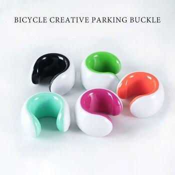 自転車ウォールマウントフック自転車駐車ラック道路 mtb バイク駐車バックルポータブルウォールラック屋内垂直ブラケット|自転車用ラック|   -