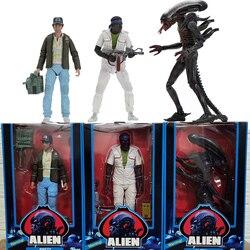 Инопланетянин NECA фигурка Alien Bloody Alien Бретт Паркер фигурки 40-летие 3 шт./компл.