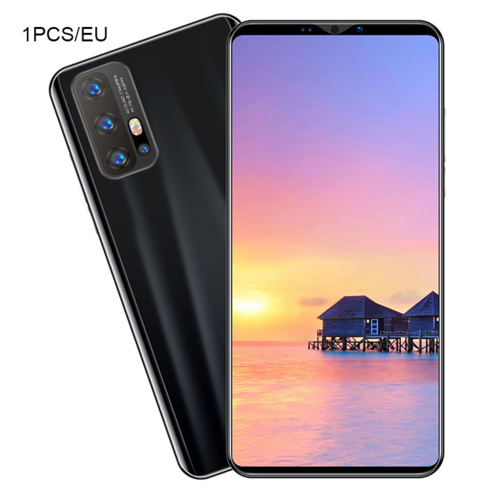 Z6 Pro Smartphone 5.8 Inch Screen Smartphone 512M+4G Android Smartphone 3D Glass Plated Back Cover Black
