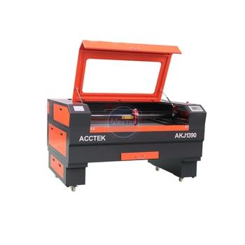 цена на Small 1300*900mm cnc laser engraving machine mini 6090 1390 wood laser cutting machine co2 for sale
